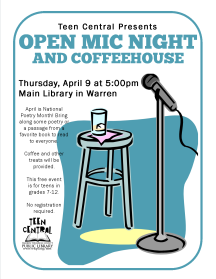 Open Mic Night & Coffeehouse