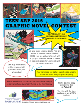Teen SRP 2015 Graphic Novel Contest