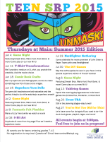 Thursdays at Main: Summer 2015