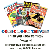 Comic Book Trivia passive program