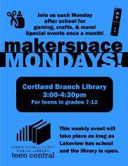 Makerspace Mondays
