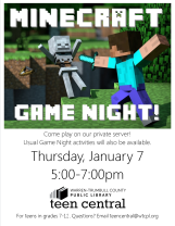 Minecraft Game Night