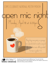 Open Mic Night 2016