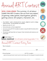 2016 Summer Art Contest