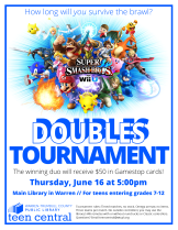Smash Bros Doubles Tournament