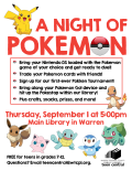A Night of Pokemon
