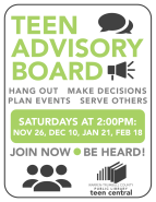 Teen Advisory Board 2016-2017