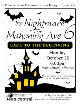 The Nightmare on Mahoning Ave 6: Back to the Beginning (the reboot!)
