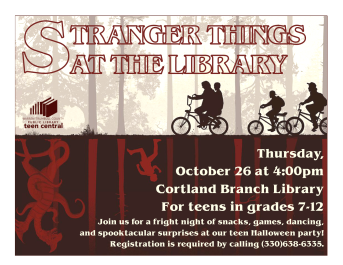 Stranger Things at the Library
