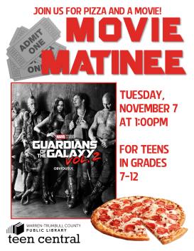 Movie Matinee: Guardians of the Galaxy