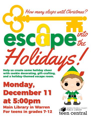 Escape into the Holidays
