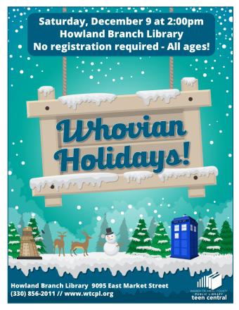 Whovian Holidays