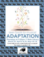 Teen Book to Musical Adaptation