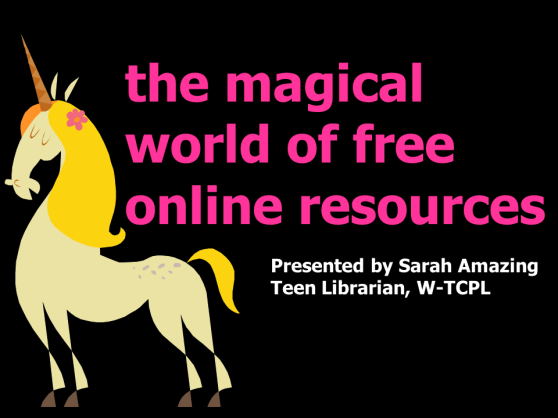 Magical World of Free Online Resources