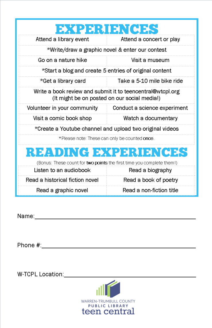 Teen SRP 2015 booklet - back