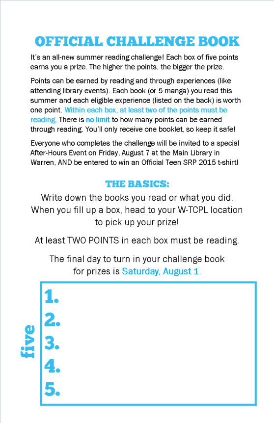 Teen SRP 2015 booklet - left