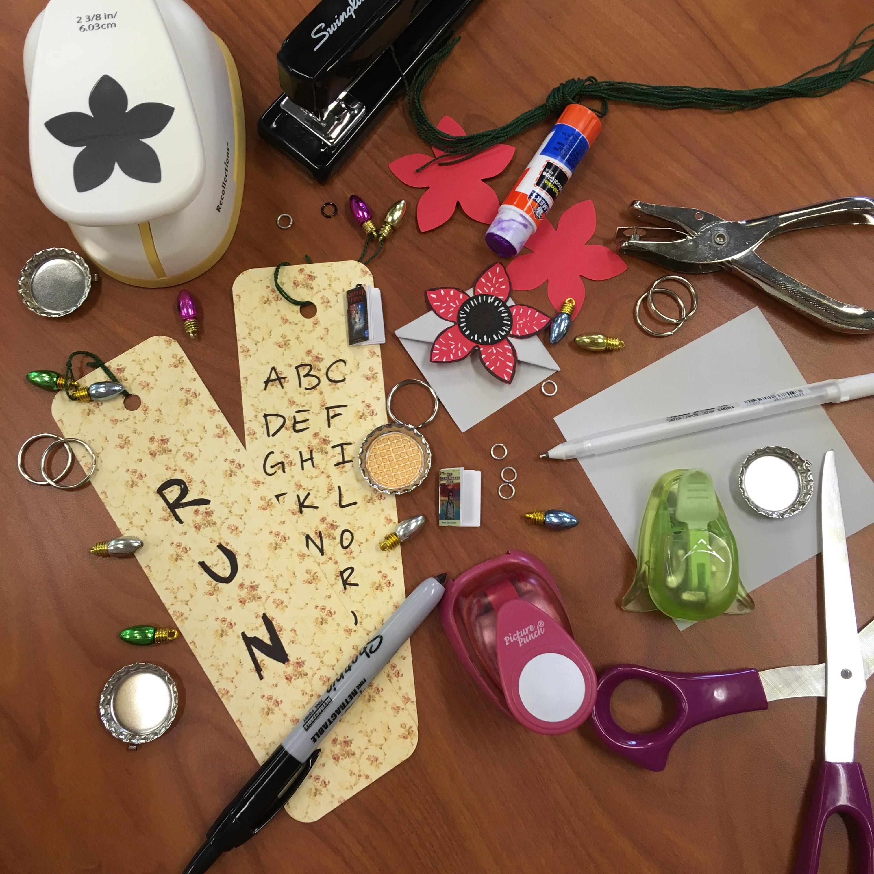 stranger things crafts 2